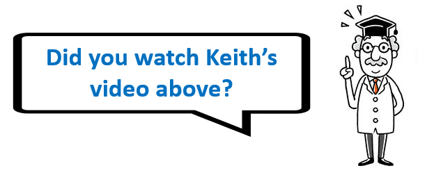Watch Keith's Video