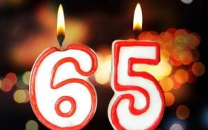 65 candles